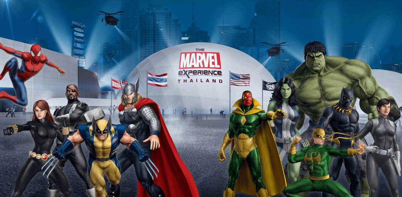 Marvel Experience Thaïland enfin ouvert à Bangkok