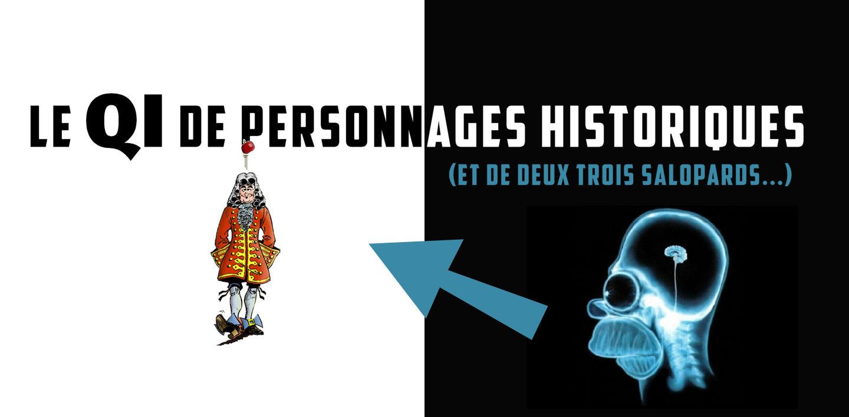 Le saviez-vous : le QI de 31 personnages historiques