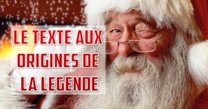 Le texte qui a donné naissance au père Noël