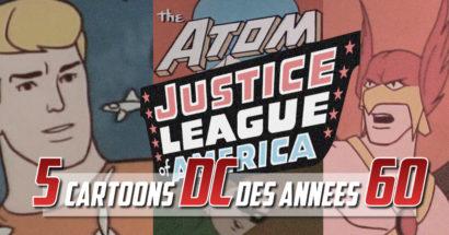 5 séries animés DC que vous ne connaissez pas  (vidéos)