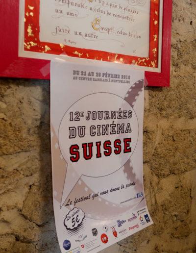Concours de fondue des 12è journées du cinéma suissse de Montpellier