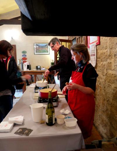 Concours de fondue - Christine, la gagnante