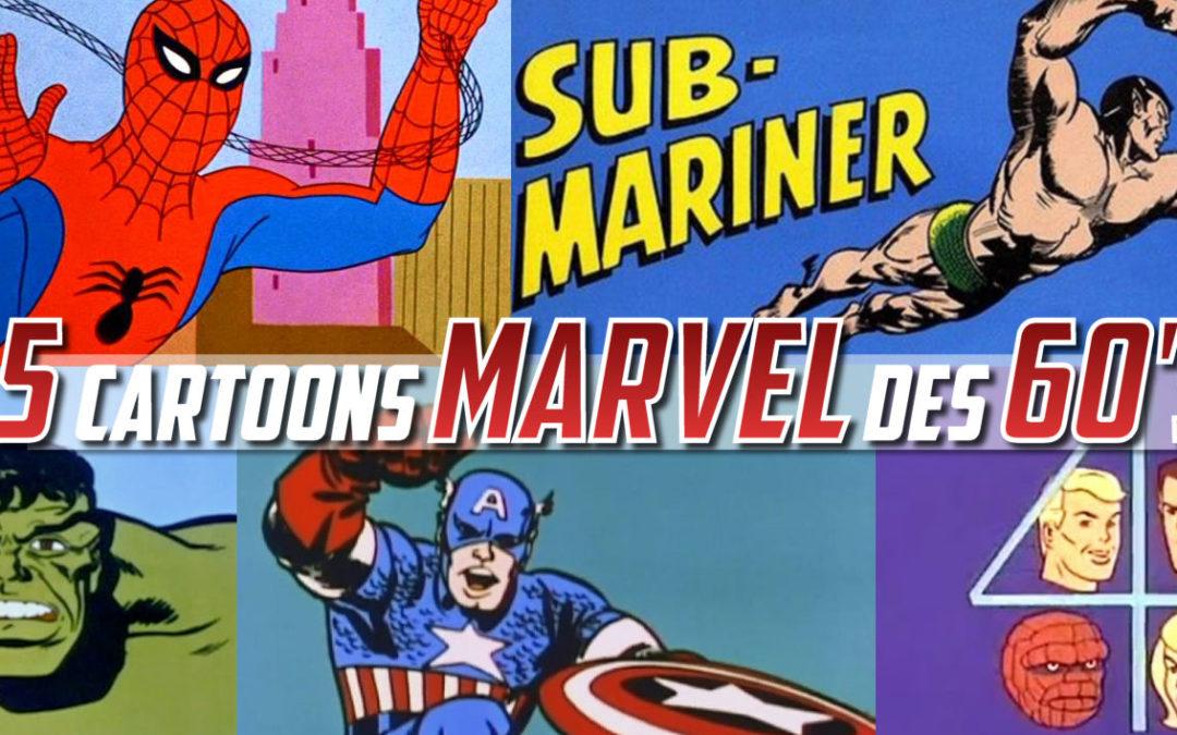 5 séries animés Marvel que vous ne connaissez pas (vidéos)