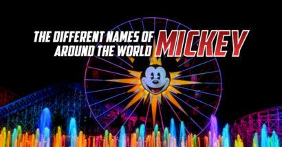 Pourquoi le nom de Mickey (et d'autres) changent selon le pays ?