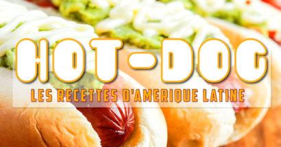 Variations sur le hot-dog (Amérique latine)