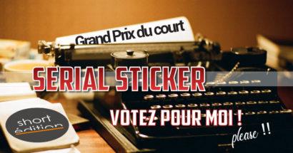 Serial Sticker - votez pour moi !