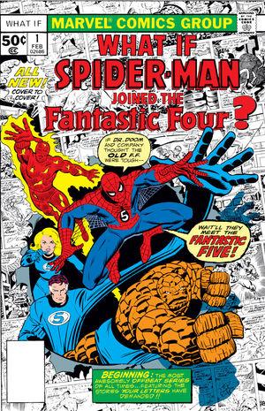 What If Marvel - Et si... Spider-Man rejoignait Les Quatre Fantastiques ?
