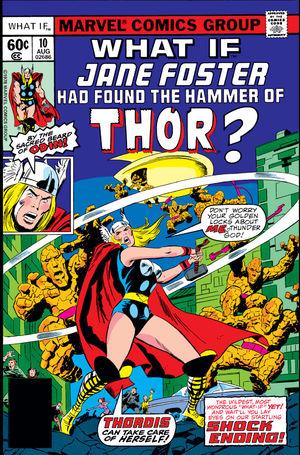 What If Marvel - Et si... Jane Foster avait trouvé le marteau de Thor ?