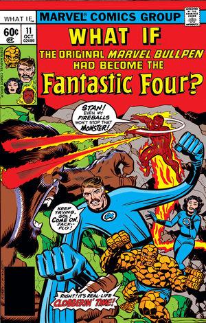 What If Marvel - Et si... Les Quatre Fantastiques étaient composés du Marvel Bullpen original ?