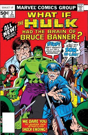What If Marvel - Et si... Hulk avait toujours eu le cerveau de Bruce Banner ?