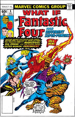 What If Marvel - Et si... Les Quatre Fantastiques avaient des pouvoirs différents ?