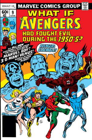 What If Marvel - Et si... Les Avengers avaient été formés dans les années 1950 ?