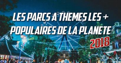 Liste des 25 parcs à thème les plus populaires de la planète