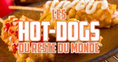 Variations sur le hot-dog (reste du monde)