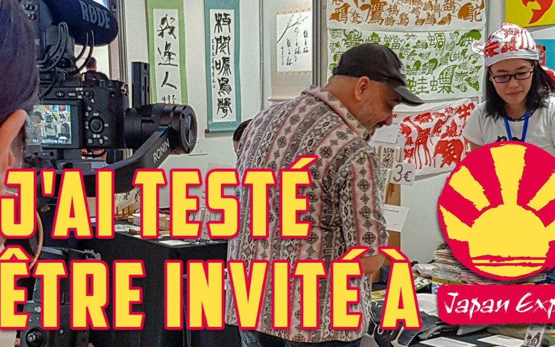 J'ai testé être invité à Japan Expo (récit)