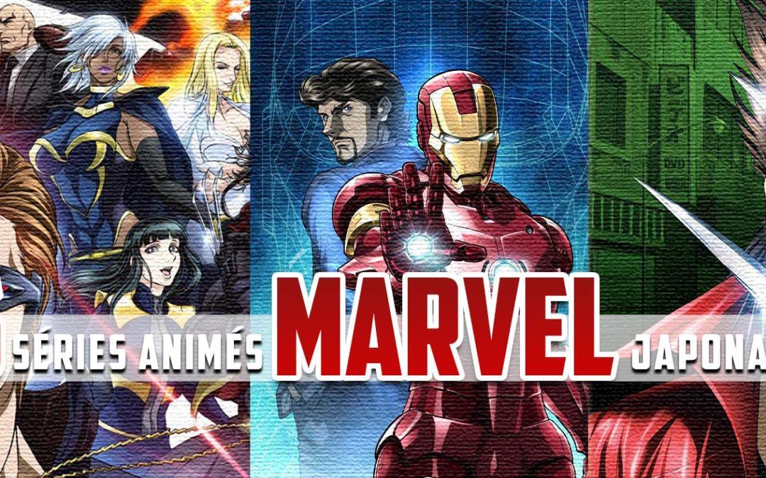 5 séries animés Marvel japonaises que vous ne connaissez pas (vidéo)