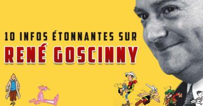 10 infos étonnantes sur René Goscinny