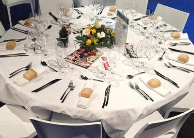 Notre table aux Toqués d'Oc Montpellier 2019