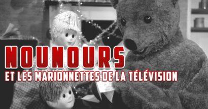 Nounours et les marionnettes de la télévision