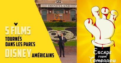 5 films tournés dans les parcs Disney américains